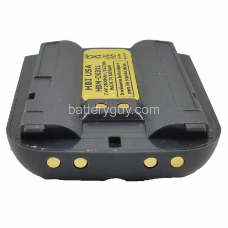 7.4 volt 2600 mAh barcode scanner battery HBM-CK31L