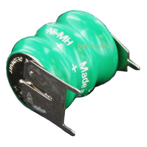 V80H3 Memory Back UP 3 Pin NiMH Battery 3.6v 80mAh (Rechargeable)