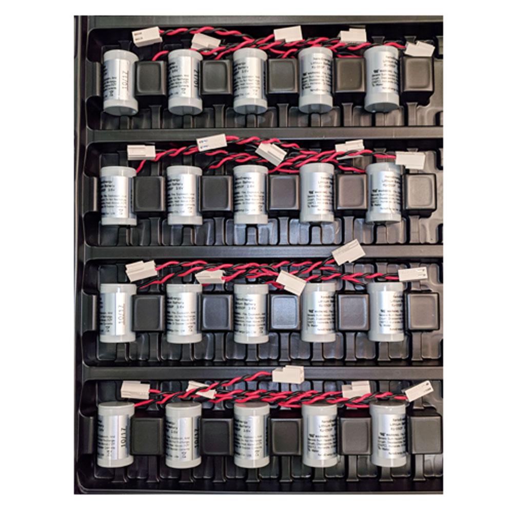 20 x XL-050F/CASE1 Utility Meter Lithium Battery 3.6v 1200mah