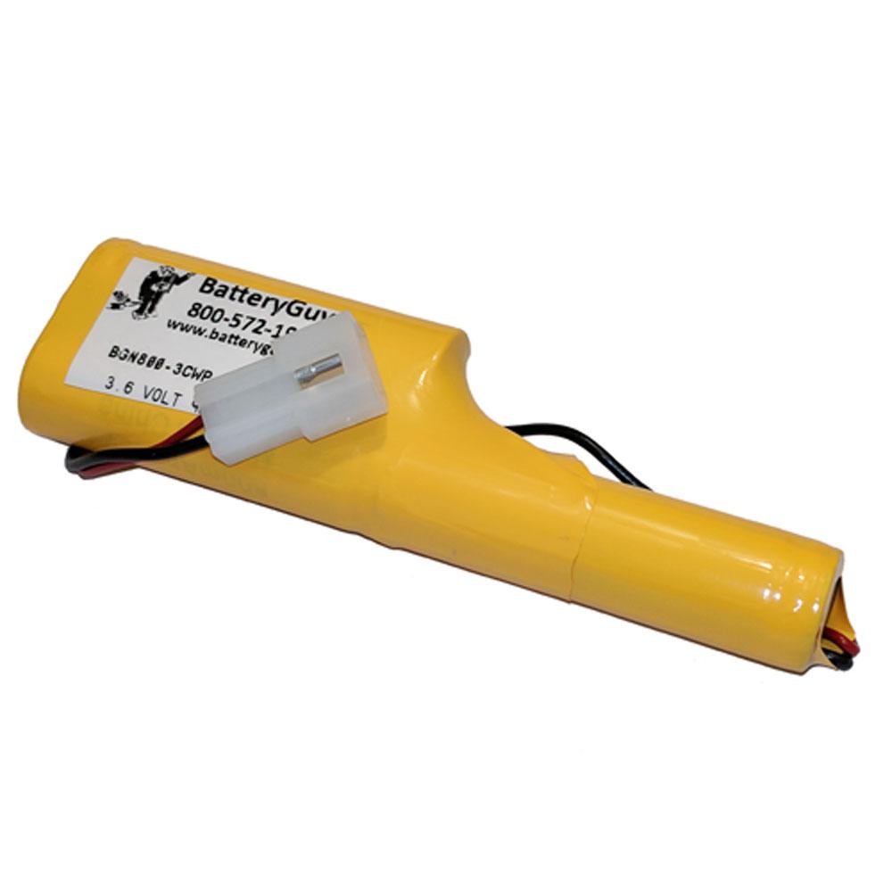 Nickel Cadmium Battery 3.6v 900mah | BGN800-3CWP-3202EC (Rechargeable)