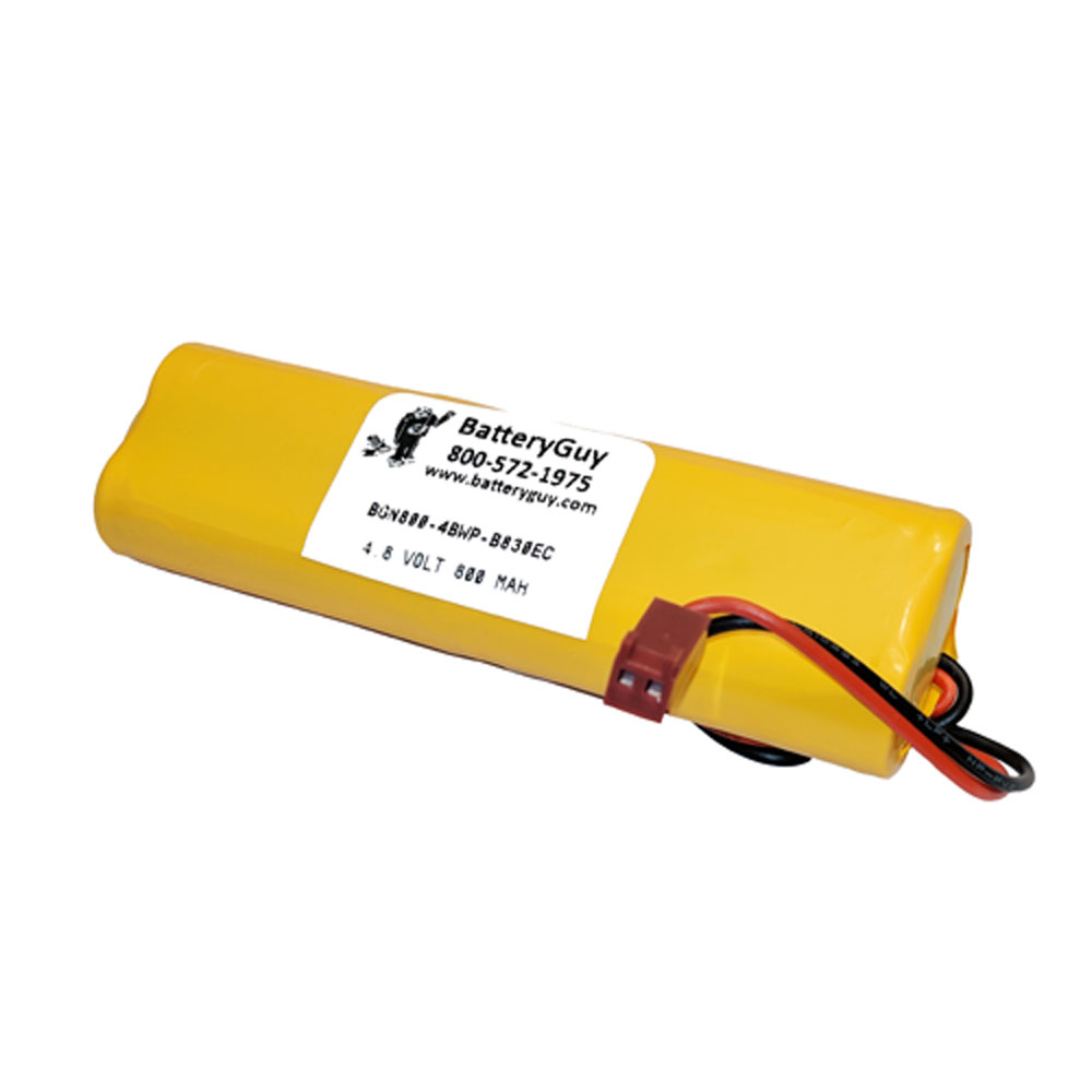 Nickel Cadmium Battery 4.8v 900mah | BGN800-4BWP-B830EC (Rechargeable)