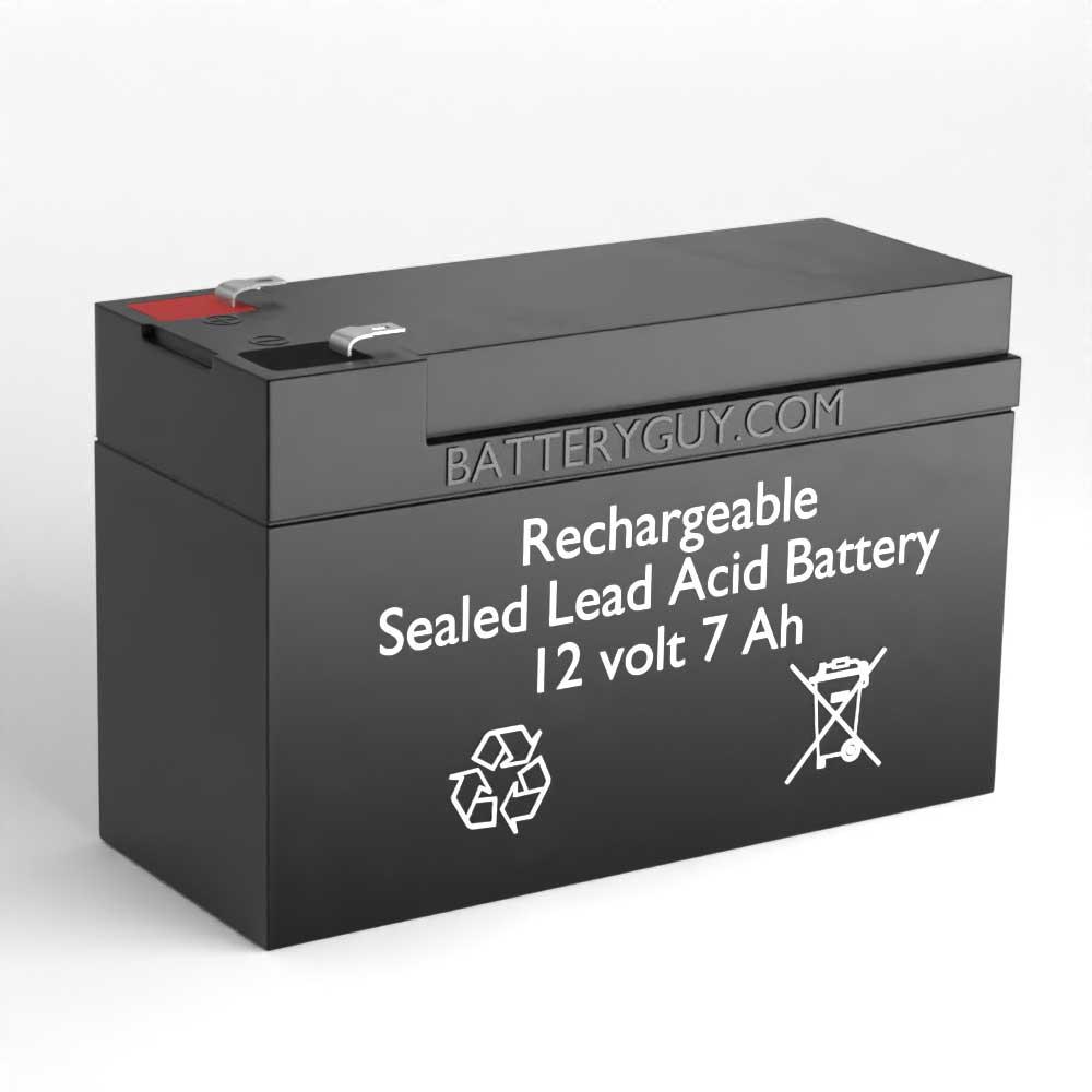 12v 7Ah Rechargeable Sealed Lead Acid (Rechargeable SLA) Battery - Bulk Discount