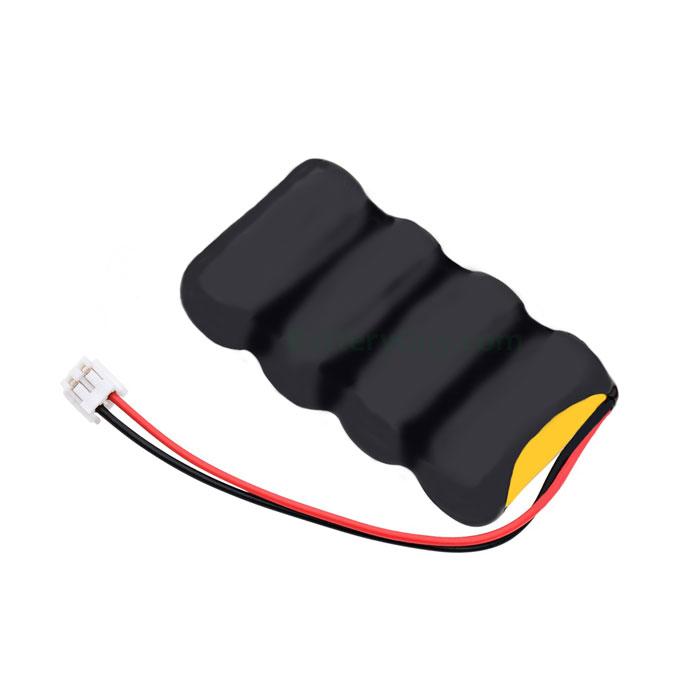 Nickel Cadmium Battery 4.8v 400mah | BGN400-4DWP-PR600EC (Rechargeable)