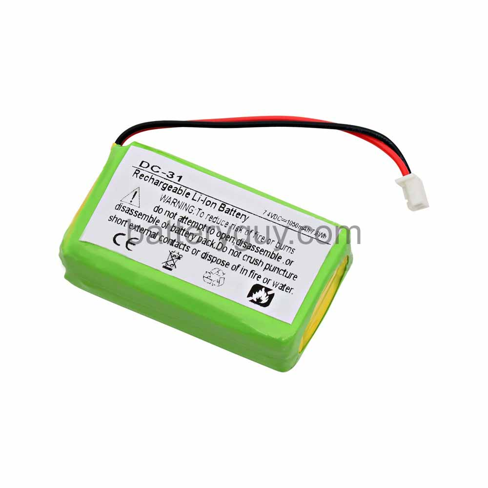 Dogtra 2502 T&B 1 Mile replacement battery
