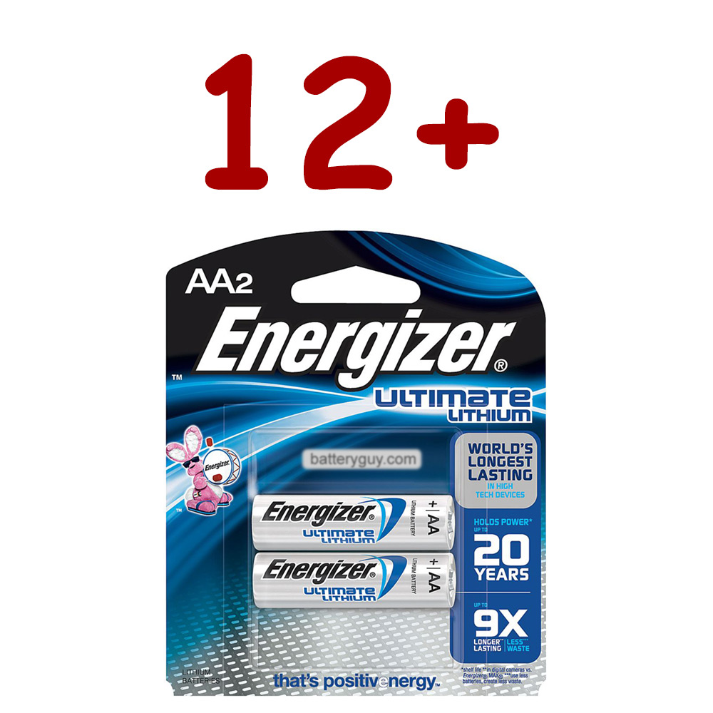 L91 Ultimate Lithium AA Battery 1.5v - Bulk Discount