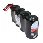 Hawker/Cyclon/Enersys 0810-0105 Battery | 8v 2.5ah Emergency Light Battery