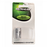 3v 1500 mah CR123A Lithium Rechargeable Battery