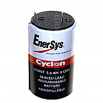 Hawker/Cyclon/Enersys 0800-0004 Battery | 2v 5Ah Emergency Light Battery