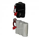 Nickel Cadmium Battery 3.6v 800mah | BGN800-3GWP-41REC or BGN800-3DWP-41REC