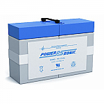 Power-Sonic PS-12120L | Rechargeable SLA Battery 12v 12ah