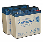 2 x Power-Sonic PS-12180 NB| SLA Battery 12v 18ah