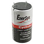 Hawker/Cyclon/Enersys 0810-0004 Battery | 2v 2.5Ah Emergency Light Battery