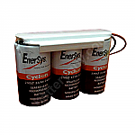 Hawker/Cyclon/Enersys 0810-0103 Battery | 6v 2.5ah Emergency Light Battery
