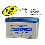 Power-Sonic PS-1270 F1 | SLA Battery 12v 7Ah