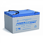 Power-Sonic PS-12100 F2 | Rechargeable SLA Battery 12v 12ah