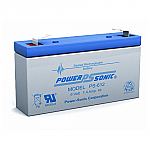 Power-Sonic PS-612 | SLA Battery 6v 1.4ah