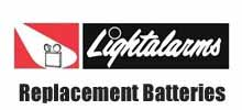 LightAlarms Replacement Batteries
