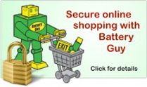 Secure online shopping with Battery Guy