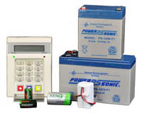 Alarm Systems Batteries