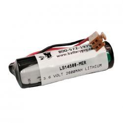 LS14500-MER PLC Lithium Battery 3.6v 2600mah