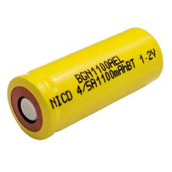 Nickel Cadmium Battery 1.2v 1100mah | BGN1100AEL (Rechargeable)