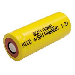 Nickel Cadmium Battery 1.2v 1100mah | BGN1100AEL (Rechargeable)