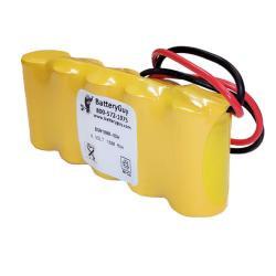 Nickel Cadmium Battery 6v 1800mah | BGN1800-5DWP (Rechargeable)