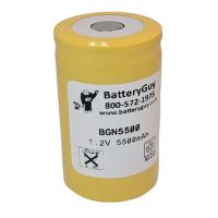 Nickel Cadmium Battery 1.2v 5500mah | BGN5500 (Rechargeable)