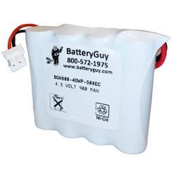Nickel Cadmium Battery 4.8v 900mah | BGN800-4DWP-500EC (Rechargeable)