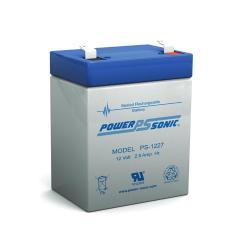 Power-Sonic PS-1227   Rechargeable SLA Battery 12v 2.9ah