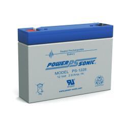 Power-Sonic PS-1228   Rechargeable SLA Battery 12v 2.8ah