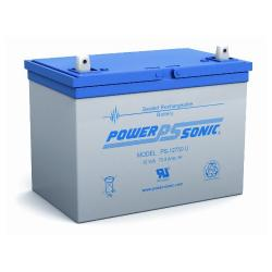 Power-Sonic PS-12750 | Rechargeable SLA Battery 12v 75Ah