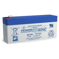 Power-Sonic PS-832 | Rechargeable SLA Battery 8v 3.2Ah