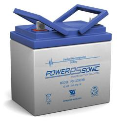 Power-Sonic PS-12350 | Rechargeable SLA Battery 12v 35ah