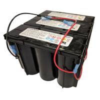 Dual-Lite 12-749 or 0120749   6v 24ah Emergency Light Battery