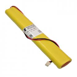 Nickel Cadmium Battery 9.6v 800mah | BGN800-8BWP-500EC (Rechargeable)