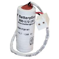Nickel Cadmium Battery 1.2v 1200mah | BGN1P201N1 (Rechargeable)