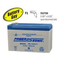 Power-Sonic PS-1270 F1 | Rechargeable SLA Battery 12v 7Ah