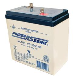 Power-Sonic PS-6360 NB| Rechargeable SLA Battery 6v 36Ah