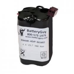 Nickel Cadmium Battery 4.8v 900mah   BGN800-4EWP-B830EC (Rechargeable)