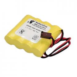 Nickel Cadmium Battery 4.8v 900mah with Connector | BGN800-4DWP-B830EC (Rechargeable)