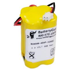Nickel Cadmium Battery 4.8v 900mah   BGN800-4EWP-326EC (Rechargeable)