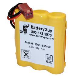 Nickel Cadmium Battery 3.6v 900mah | BGN800-3DWP-B830EC (Rechargeable)