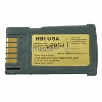 3.7 volt 1650 mAh barcode scanner battery HBM-BHT7000L