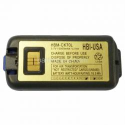 3.7 volt 5000 mAh barcode scanner battery HBM-CK70L (Rechargeable Battery)