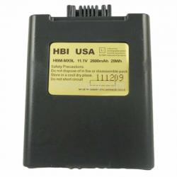 11.1 volt 2600 mAh barcode scanner battery HBM-MX9L (Rechargeable Battery)