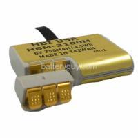 6 volt 700 mAh barcode scanner battery HBM-3100MKT