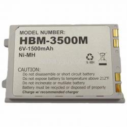 6 volt 1500 mAh barcode scanner battery HBM-3500M (Rechargeable Battery)