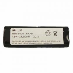 4.8 volt 1400 mAh barcode scanner battery HBM-860N (Rechargeable Battery)