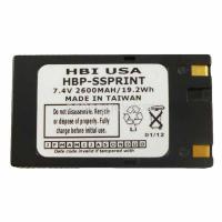 7.4 volt 2600 mAh barcode printer battery HBP-SSPRINT